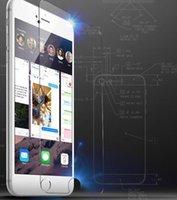 al por mayor nota 2 galaxia delgada-Protectores de pantalla de Samsung S6 / S6 / S5 / S4 / S3 / 3/4 Iphone 4/5/6/6 Plus Ultra Thin Nota 2 del teléfono celular de cristal templado