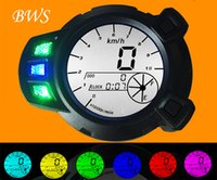 Wholesale 12v LCD Speedometer Odometer Motorcycle Tachometer For Yamaha Zuma BWS x BMK YW125 PRM Colour Backlight