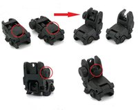 Wholesale front sight Set Front And Rear Folding Sights rifle scope hunting