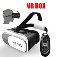 Wholesale VR Glasses Google Cardboard Head Mount VR BOX Version VR Virtual Reality Glasses for VR Box D Glasses