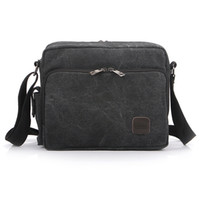 Wholesale Multifunction Men Canvas Bag Travel Bolsa Masculina Men s Crossbody Bag Casual Male Messenger Bags AB190 salebags