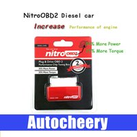 Wholesale Diesel NitroOBD2 Chip Tuning Box elm327 OBD2 Plug and Drive Nitro OBD2 Interface for diesel ECU programmer