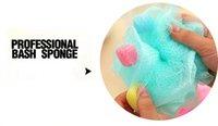 bath flower baby - Color Comfortable Sponge Bath Cartoon Large Bath Ball Baby Bath Rub Cute Diameter CM Nylon