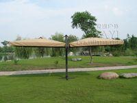 big garden furniture - 3 meter Deluxe big patio garden umbrella with covers parasol sunshade for outdoor furniture covers