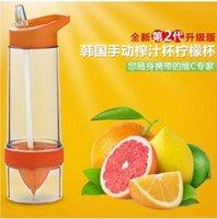 Wholesale Citrus Juicer Juice cup Lemon Cup artifact II lemon summer drink lemon cups juice cups for children activity Cup