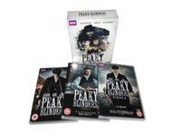 Wholesale NEW Peaky Blinders Season UK Version tv series Complete Series Region DVDs by DHL