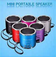 Wholesale Portable Mini Speaker Z Z12 Z Angel Kaidae With FM Support Micro TF Card Music Player Speakers Multi colour