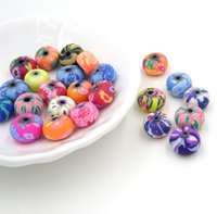 bead creations - 6 mm Mix Diy Beads Of Polymer Clay Bulk Bead Creation Bijoux Parts To Make Jewelry Boncuk All For Crafts