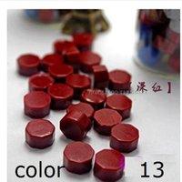 Wholesale Color optional vintage sealing wax tablet pill beads granule grain strip sticks for envelope wedding Wax seal ancient