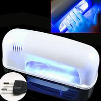 Wholesale 9W Nail Art Tools Fish Shape Nail Dryer Gel UV Lamp Light Nail Dryer V Quick Dry Lamp EU US UK Plug