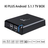 Wholesale KI PLUS Android Smart Android TV BOX Amlogic S905 Quad Core bit G G UHD4K D HDMI2 Mini PC KODI XBMC Miracast DLNA