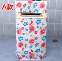 Wholesale Home Washer Washing Machine Guard Cover Waterproof sunscreen Flower cover dust cover home decoration