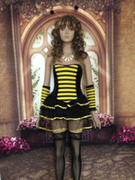 adult bee costumes - Hot Honey Bee Lingerie Costume New Arrival Hot Popular Fancy Costumes For Adults Sexy Honey Bee Costume S1194
