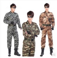 army combat coat - promotion Outdoor men s Military jacket tactical tatico Camouflage sets Army militar uniform combat Airsoft clothes Coat Pants