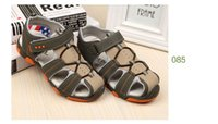Wholesale 2016 new style men s fashion baby shoes casual sandals and anti slip hollow air sport children sandals boys sandals