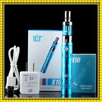batteries regulations - 100 Authentic X10 Starter Kit ECT X10 MAH Battery W High Voltage Regulation Vapor Atomizer ECT X10 Kit VS iJust Kit