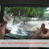 angle fresnel lens - Wide Angle Fresnel Lens Car Parking Reversing Sticker Useful Enlarge View Angle Fresnel Lens