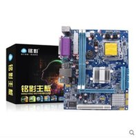 Wholesale Ming ying MY G41 Zeus Edition Intel LGA775 DDR3 Desktop PC Game Board Set sound card pin all solid materials