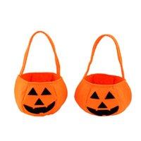 Wholesale Smile Pumpkin Bag Kids Bag Children Gift Delicate Hallowmas Decoration Festival Gift