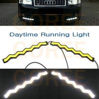 auto bulb types - New Type w DRL COB chip smd Super Bright Car Auto Tail Backup Reverse COB Bulb Driving Lamp l Daytime running lights
