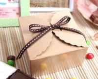 Wholesale Snak Box Small Kraft Gift Box Party box Mini kraft paper cake box Packaging Boxes