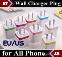 Wholesale Metal Dual wall US EU plug Dual USB A AC Power Adapter Wall Charger Plug port for mobile phone samsung note LG NEXUS tablet ipad JE7