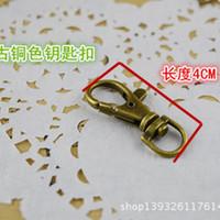 bag pocket watches - New DIY Bags shrimp buckle cm Pocket watch buckle bronze color Wear special keychain pocket watch