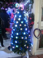 Wholesale 150cm Height Colorful Leds Lighting Christmas Tree Elegant Holiday Home Decotor