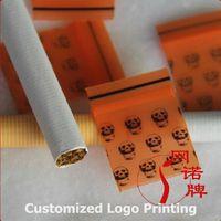 Wholesale 300pcs x3cm Jewelry Ziplock Zip Zipped Lock Small Thick Reclosable Plastic Poly Orange Bags Vacuum Bag
