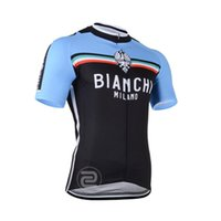 bianchi red - BIANCHI Cycling outdoor sports Professional team cycling Jersey short sleeves jersey Size S XXXL