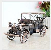 antique cars ford - 24 alloy car models Ford coupe vintage car two color mixing hair Q84