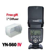 Wholesale Yongnuo YN560 IV YN560IV Wireless Master Slave Flash Speedlite for Canon Nikon Pentax Olympus Fujifilm Panasonic DSLR Cameras
