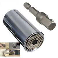 Wholesale Gator Grip Multi function Ratchet Universal Socket mm Power Drill Adapter H210584
