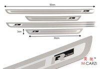 Wholesale plate oil Top Quality Stainless Steel Door Sill Scuff Plate For VW CC Passat B6 B7 R36