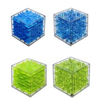 baby magic boxes - New D Maze dolls Trekbest Three Dimensional Magic Cube Puzzle Box Sequential Puzzles as Birthday Baby toys Gift