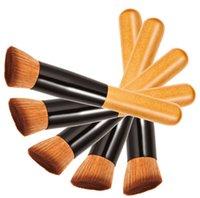 advanced wood - Makeup Brushes Make up Brushes Advanced Nylon Wool Ash Brush Handle Oblique Head Blush