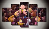 animal cinema - Framed Printed the peanuts cinema picture Painting wall art room decor print poster picture canvas F