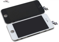 Cheap 2016 on sale AAA+++ Black and White color Replacement Touch Panel LCDs Display Digitizer Assembly For Iphone5 5C 5S no dead pixel