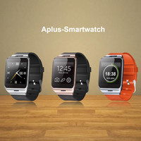 Wholesale Waterproof Aplus GV18 Smart watch phone GSM NFC Camera wrist Watch SIM card Smartwatch for Samsung Android Phone