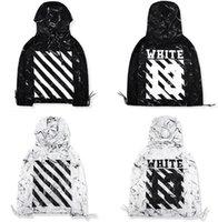 argyle ties - OFF WHITE Jackets Tie dye marble diagonal stripes windbreaker jackets hooded streetwear coats