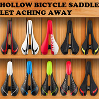 Wholesale PROMEN Bicycle saddle mountain and road bicycle seats CR MO steel hollow bike saddle bicycle parts