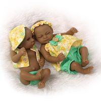 american doll kit - Inches Mini Full Vinyl Reborn Baby Dolls Realistic Native American Indian Reborn Baby Doll Kits Real Looking Baby Dolls Toys