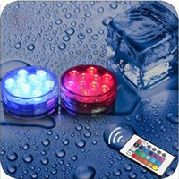 Wholesale Aquarium Fish Tank Waterproof RGB Multicolor LED Submersible Decoration Light