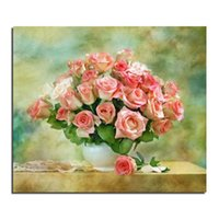 basin pictures - Rose Basin x30 full square drill diamond painting pictures of rhinestones set of embroidery kits new needlework