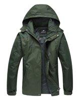 age ski - Fall Men s outdoor leisure sports jacket ski wear age season thin waterproof windproof hooded coat male color XL XL
