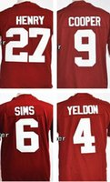 baseball events - 27 Derrick Henry Amari Cooper Blake Sims T J Yeldon Men s NCAA College Football Playoff Sugar Bowl Special Event Jersey
