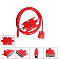 Wholesale SC09 PLC CABLE SC Red color programming cable for FX and A series PLC