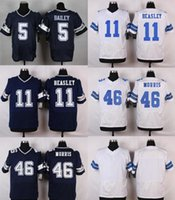 alfred blue - Cowboys Men s Dan Bailey Cole Beasley Alfred Morris Stitched Jerseys Blue White