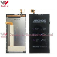 archos digitizer - 1pcs For Archos platinum LCD Display Touch Screen Digitizer Assembly Replacement with Tracking