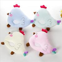 Wholesale 2016 Cute Cartoon Chicken Design Baby Pillow T Infant Newborn Sleep Positioner Prevent Flat Head Shape Pillows